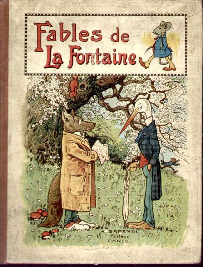 Francomac™: Fables de Jean de la Fontaine Livraphone