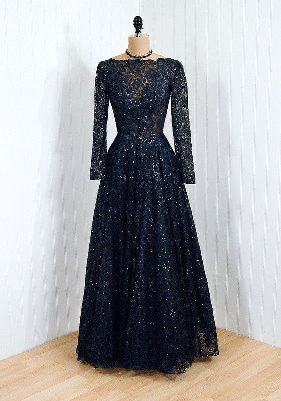 Vintage evening gown