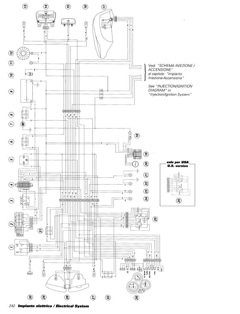 996 Red Bull Page 109 The Ultimate Ducati Forum Wiring Diagram Choice But To Dig Into And Cut Off Everything That I Dont Need Trimmed All Of Wires Their Absolute Minimum Length